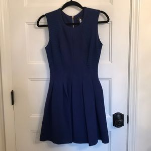 Short blue dress! Worn once!